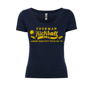 Cookman Kickball Club Ladies Scoop Tee