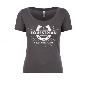 Springwood Equestrian League Ladies Scoop Tee