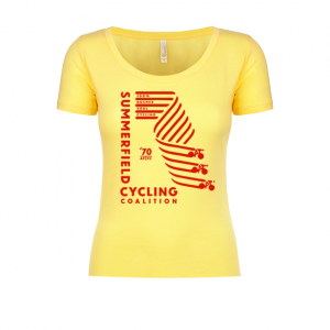 Summerfield Cycling Coalition Ladies Scoop Tee