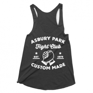 Asbury Park Fight Club Racerback Tank