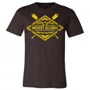 Fifth Avenue Archery Alliance Tee