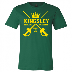 Kingsley Fencing Academy Tee