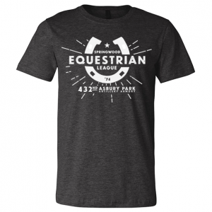 Springwood Equestrian League Tee