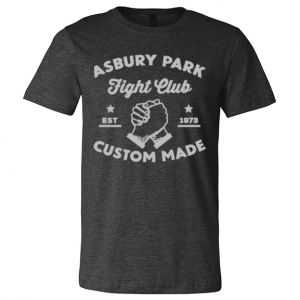 APFC Logo Tee – Dark Grey Heather