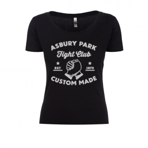Asbury Park Fight Club Ladies Scoop Tee
