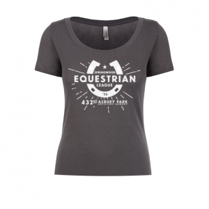 Springwood Equestrian League Ladies Scoop Tee