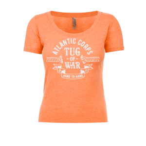 Atlantic Tug of War Corps Ladies Scoop Tee