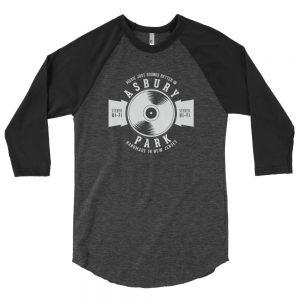 Music Just Sounds Better In Asbury Park 3/4 Sleeve Raglan Shirt