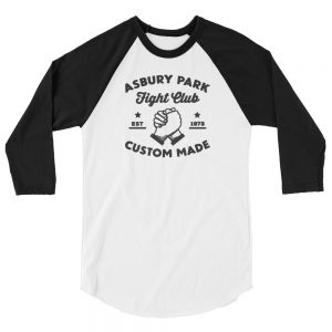 APFC Logo 3/4 Sleeve Raglan Unisex Shirt